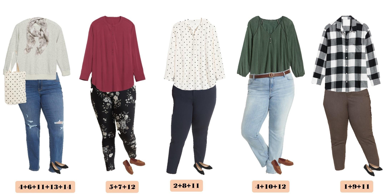 autumn plus size outfits