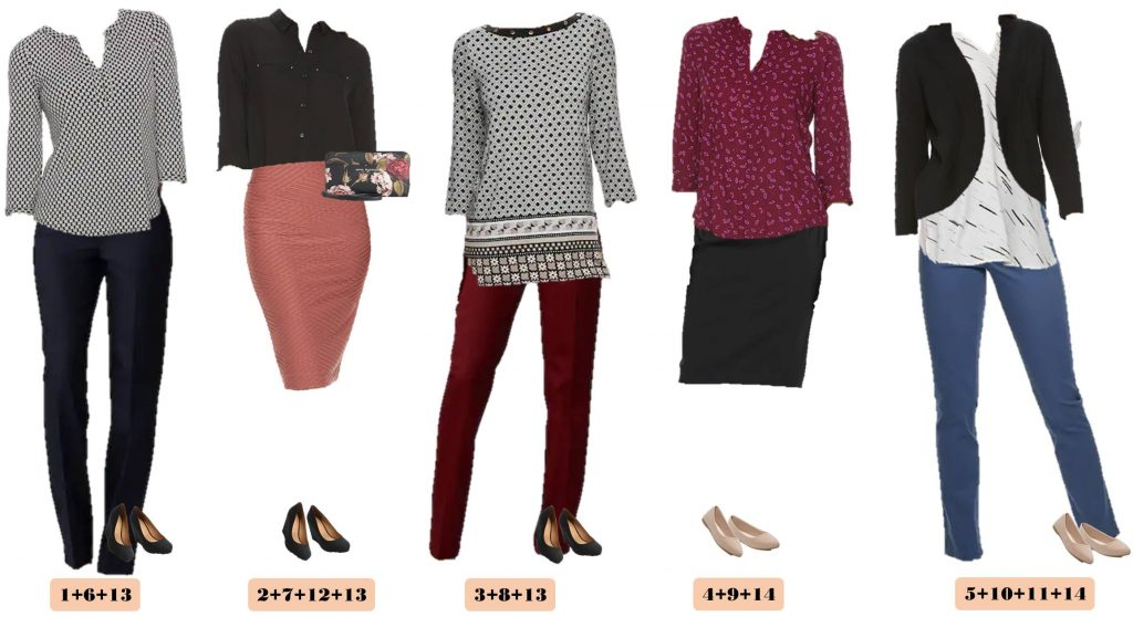Kohls Fall Business Casual Capsule Wardrobe Business