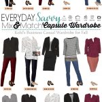 Kohls Fall Business Casual Capsule Wardrobe