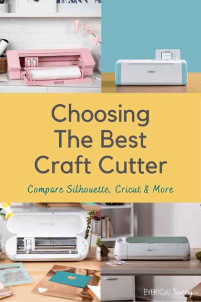 Craft Cutting Machine Comparisons and Cricut Alternative