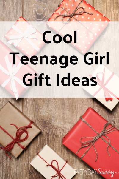 cool gift ideas for teenage girls