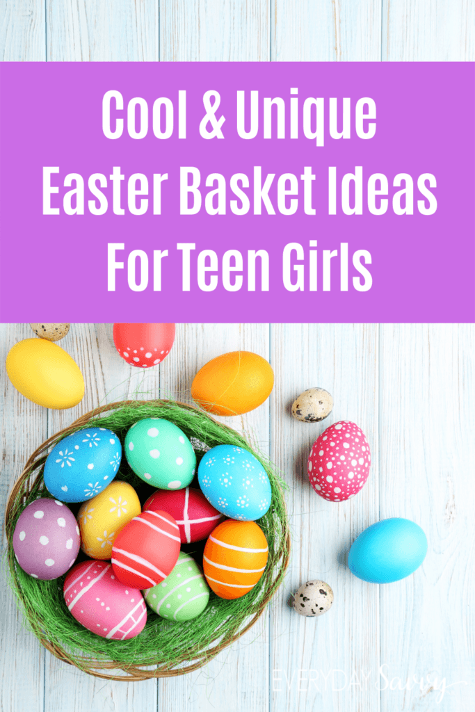 Easter Basket Ideas for Teenage Girls - Basket with eggs