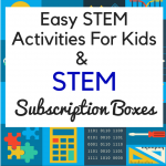 Easy STEM Activities for Elementary and Middle School Kids
