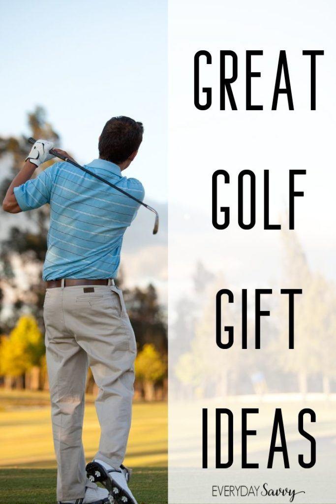 best golf gifts for men - man golfing