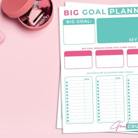 Big Goal Planner