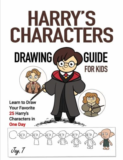 harry's characters drawing guide
