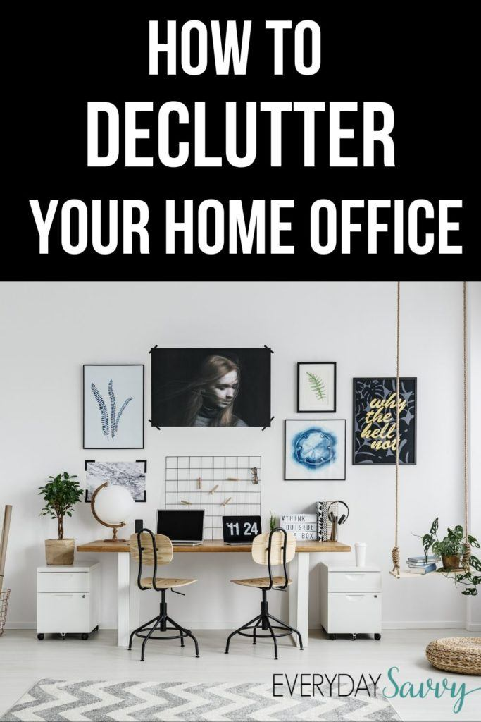 Tips for How to Declutter Your Home Office