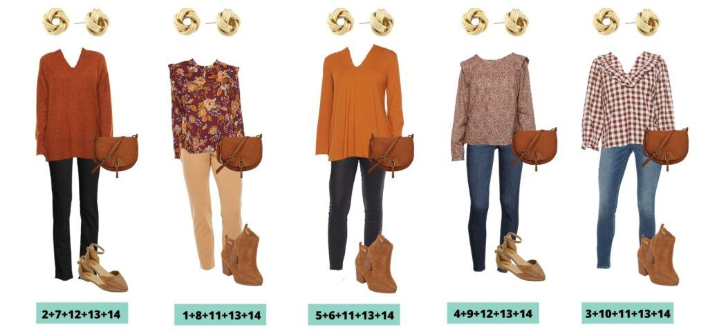 JCPenney Fall Clothes Capsule Wardrobe Outfits for Women