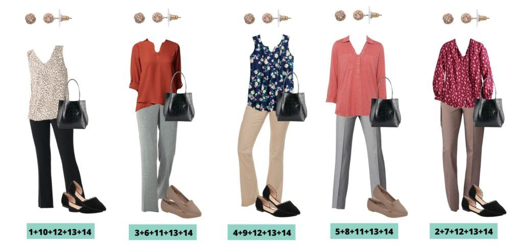5 Fall Business Casual Capsule Wardrobe Outfits