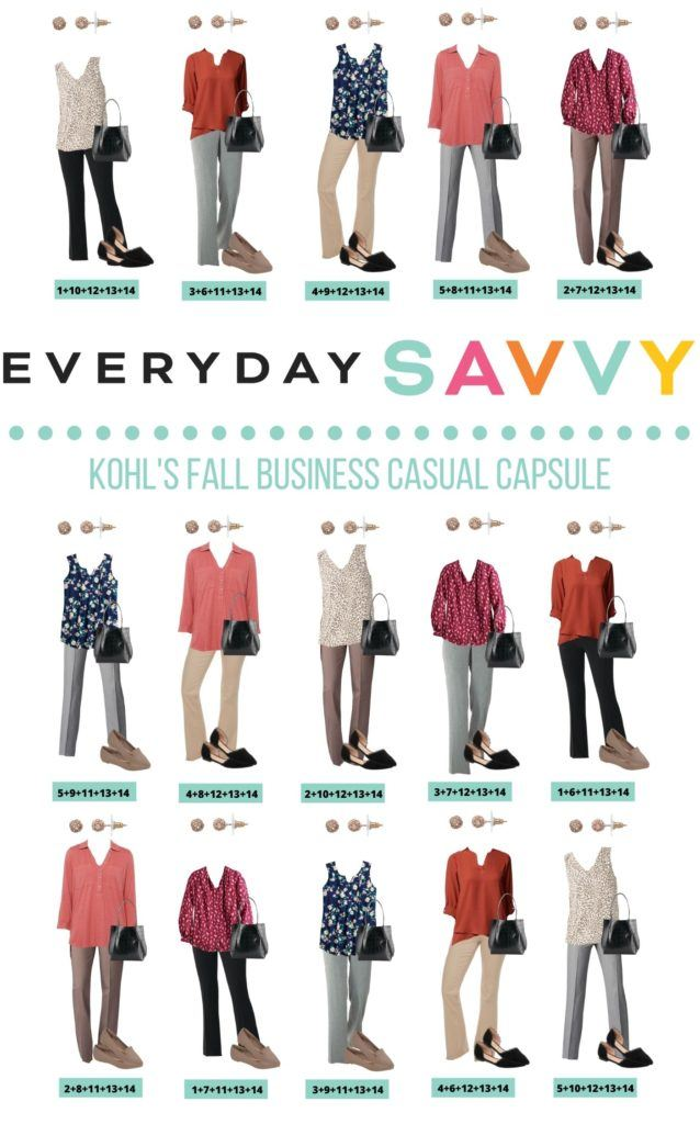 15 Fall Business Casual Capsule Wardrobe Outfits