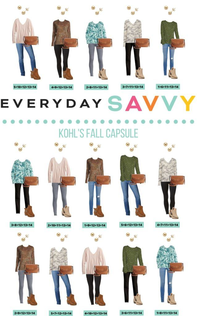 15 Mix and Match simple fall outfits capsule wardrobe