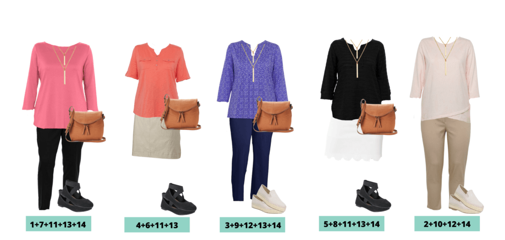Plus Size Business Casual Ideas Outfits for Spring  - 5 Mix and Match Plus Size outfit Ideas
