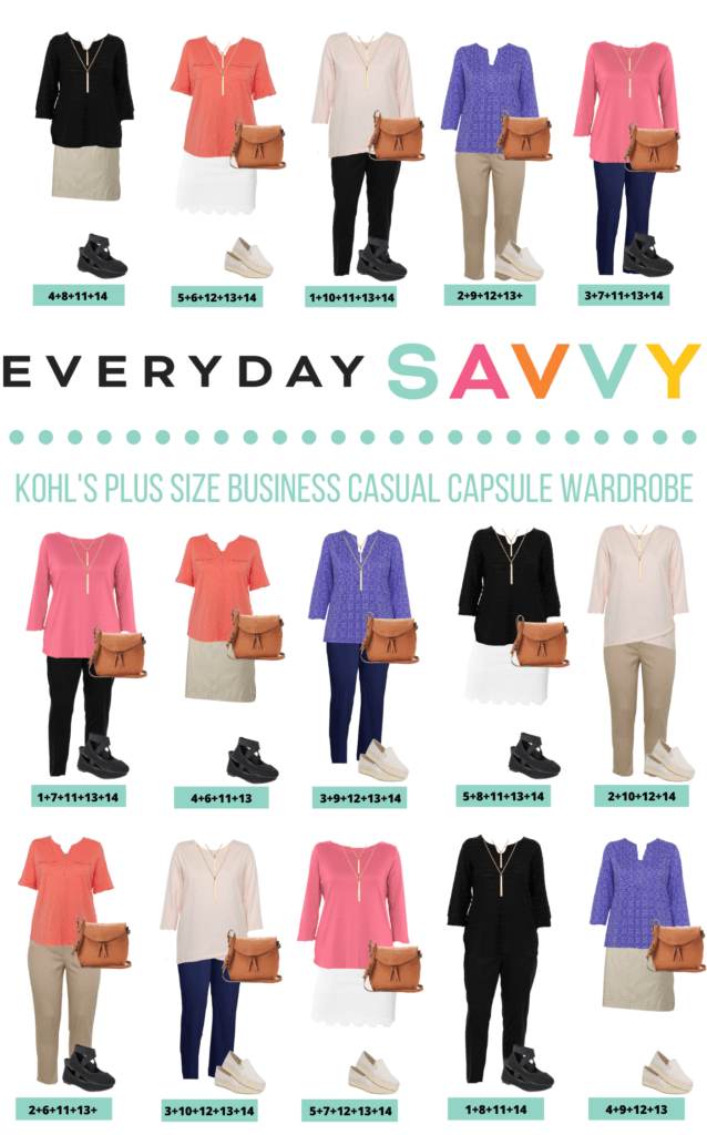 Plus Size Business Casual Ideas Outfits for Spring  - 15 Mix and Match Plus Size outfit Ideas