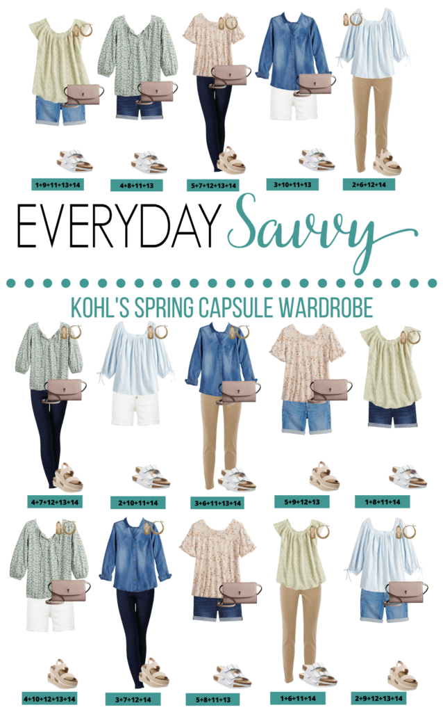 15 mix and match spring clothes ideas that make a capsule wardrobe