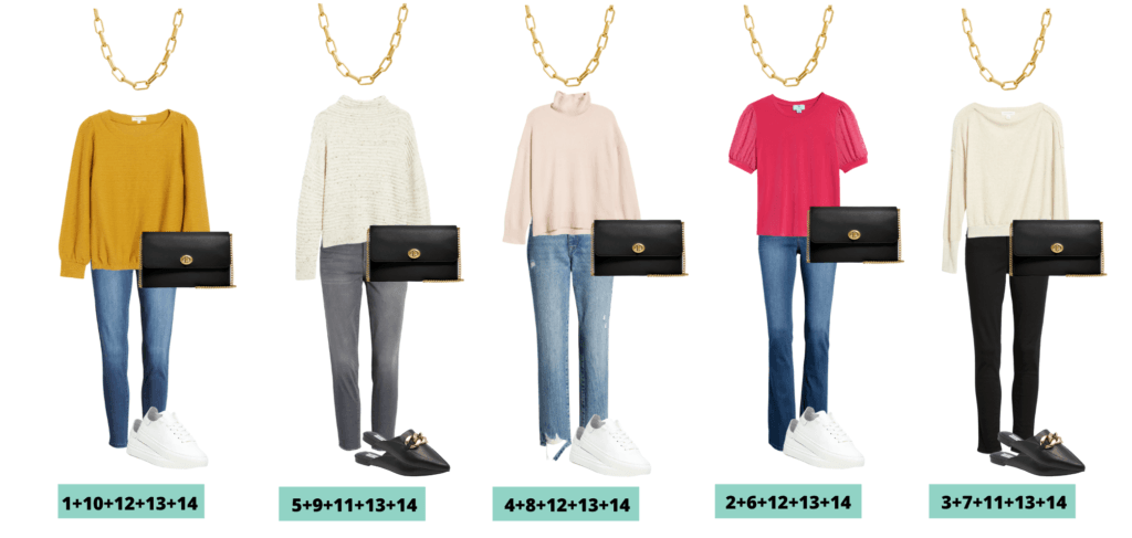 Nordstrom Capsule Wardrobe - 5 fall outfits from Nordstrom Anniversary Sale
