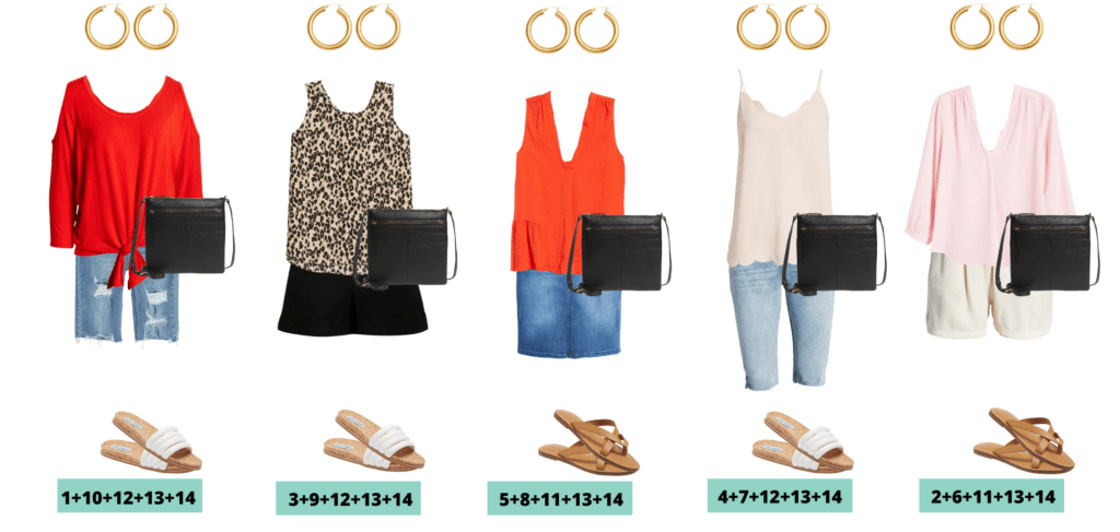 5 cute summer outfit ideas