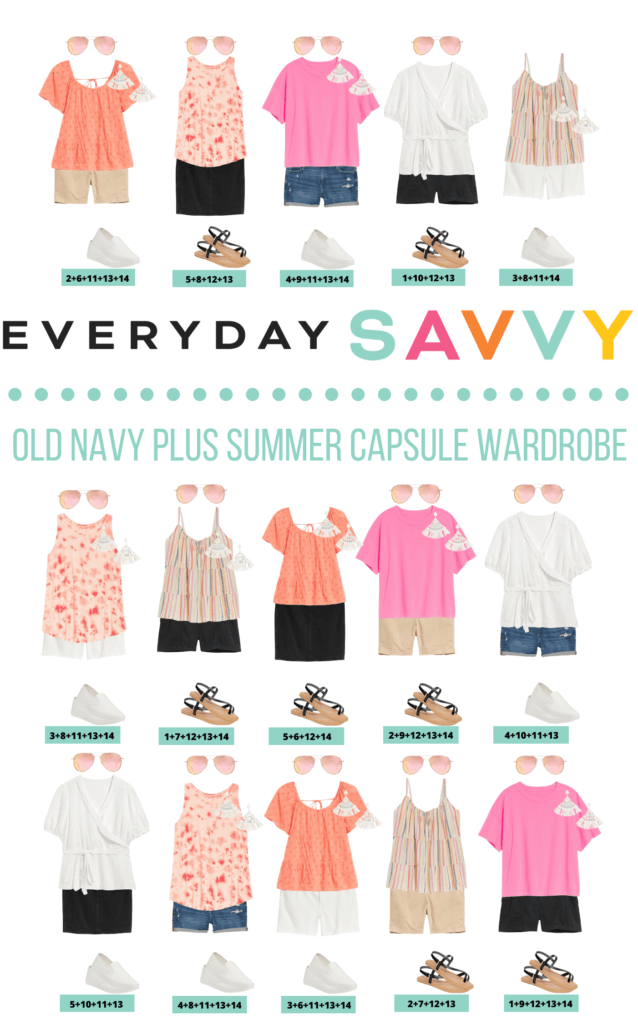 Cute Plus Size Summer Outfits from Old Navy