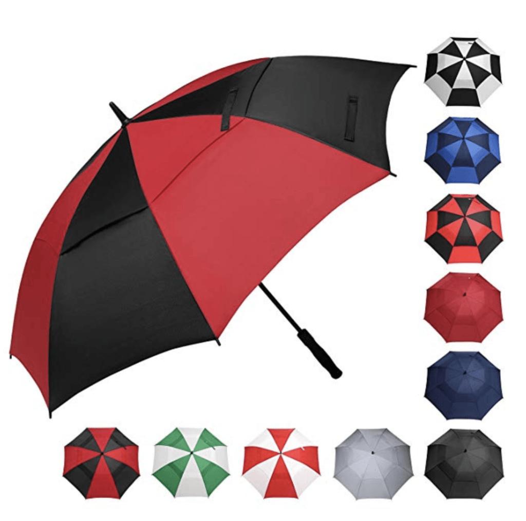 golf umbrella - golf gift idea