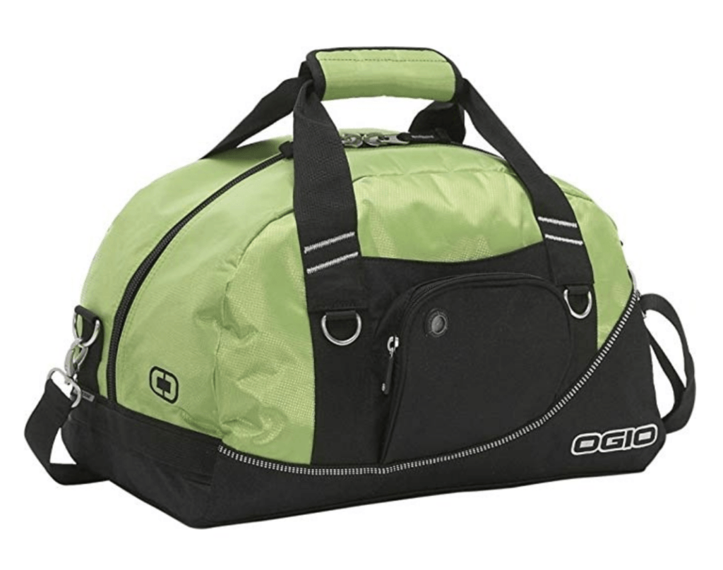 golf duffle bag in green - golf gift for him