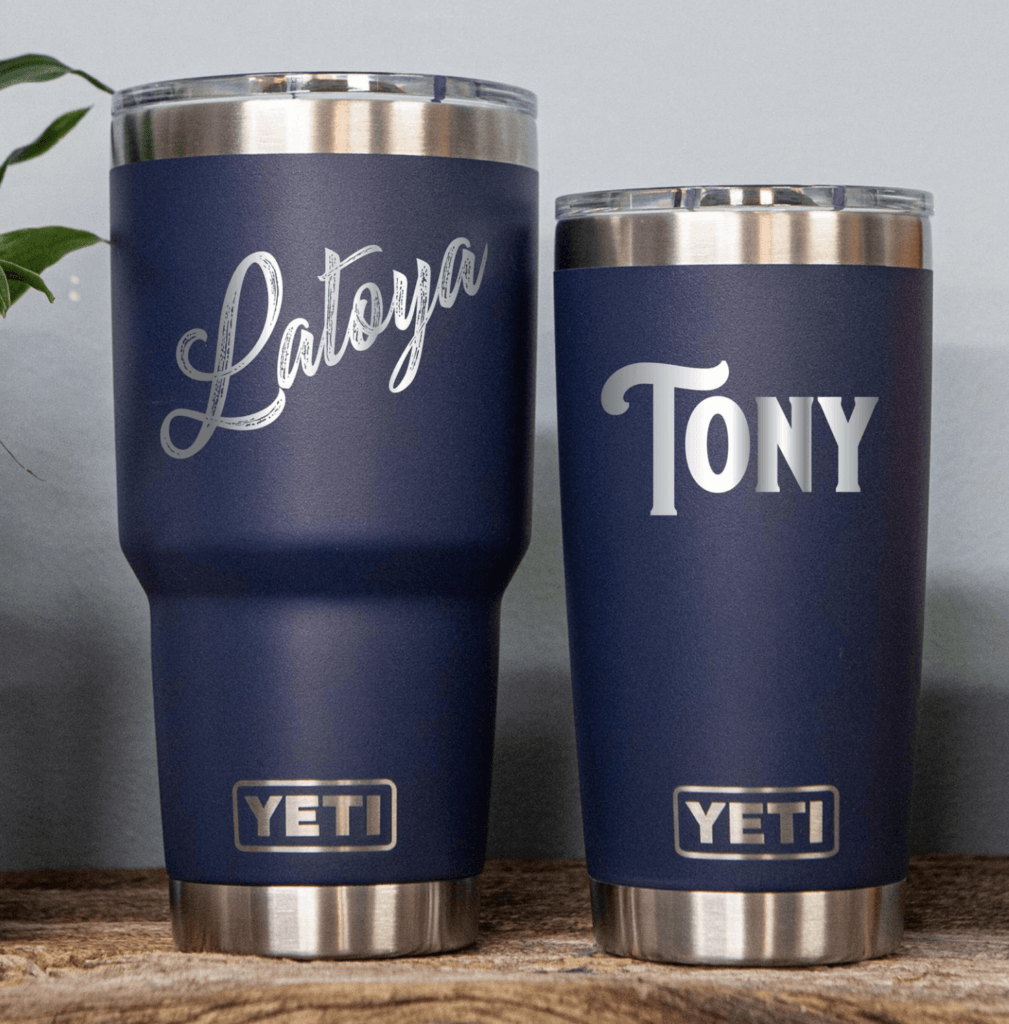 personalized Yeti mugs with name