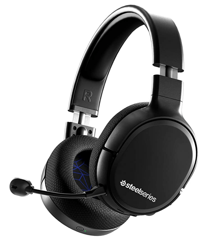 Black Wireless SteelSeries Headset