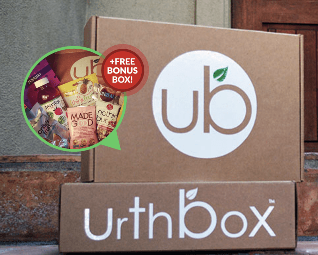 urthbox - healthy snack subscription box