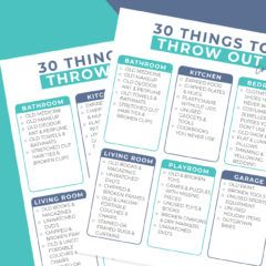 Things to Throw Out