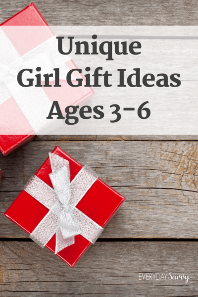 Unique Girl Gifts Ages 3 4 5 6