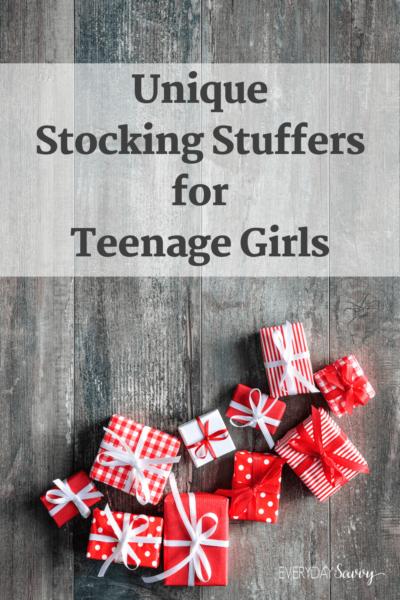 Unique Stocking Stuffers For Teenage Girls
