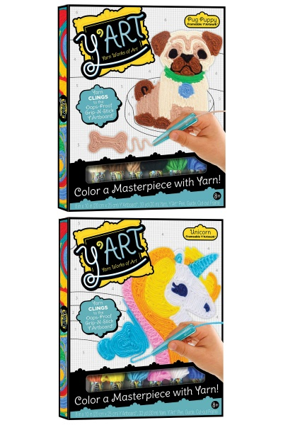 yart drawing with yarn craft sets