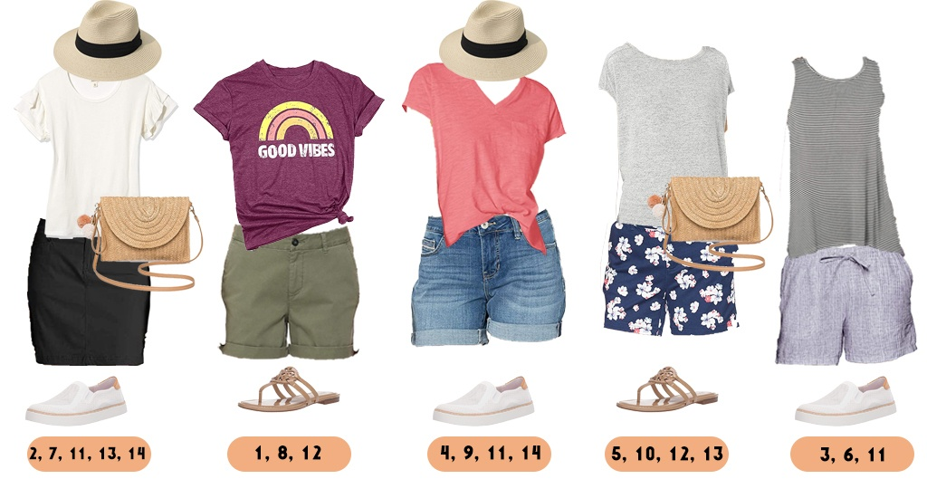 cute casual summer outfits from Amazon