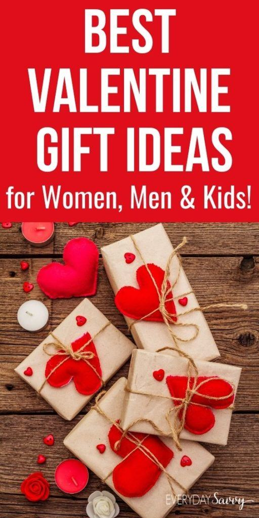 Best Valentine Gift Ideas for Women, Men & Kids - Wrapped presents with quilted felt hearts