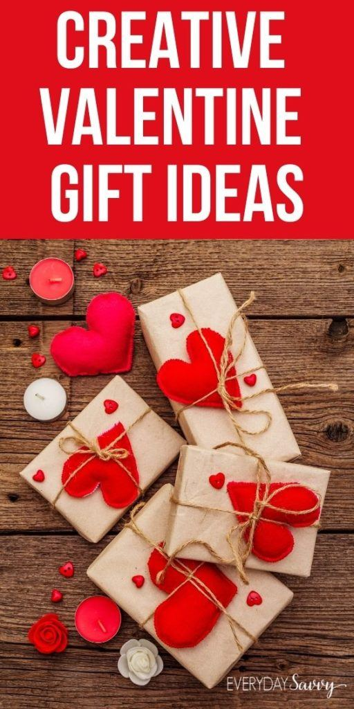 Creative Valentine Gift Ideas