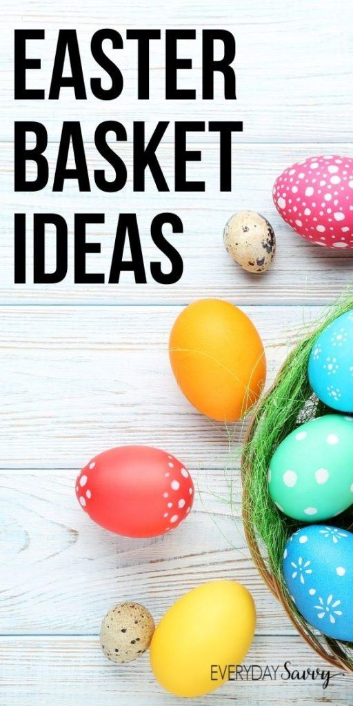 Easter basket ideas  - easter eggs and basket