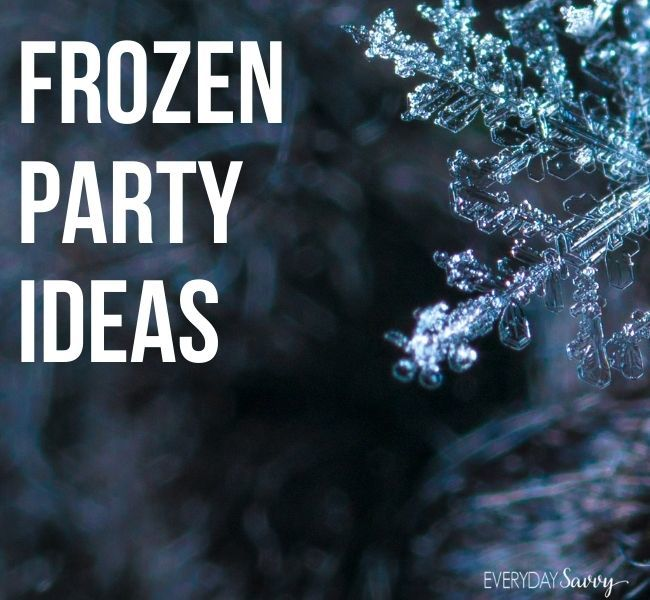 Frozen Party Ideas - snowflake