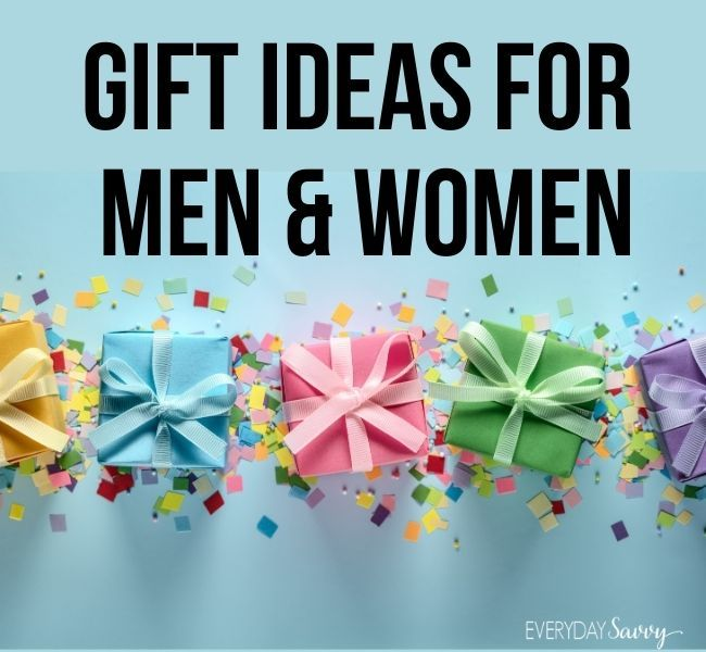 Gift Ideas for Men and Women
