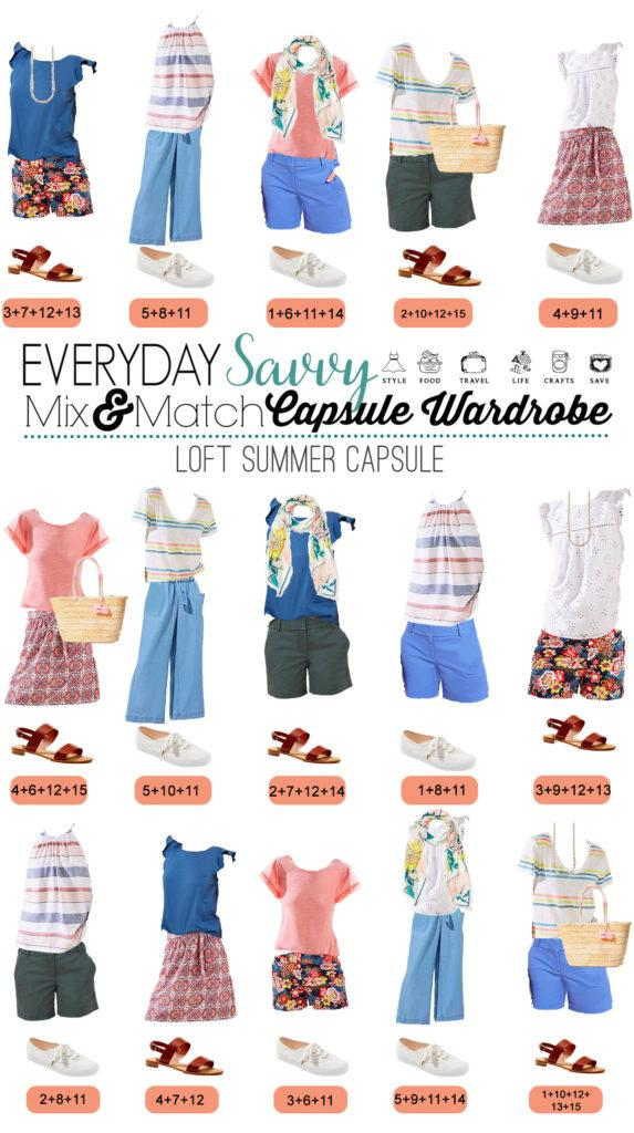 cute mix and match summer outfits with stripes and pattern