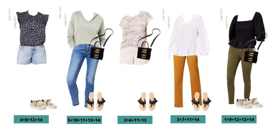 5 Loft Capsule Wardrobe Spring Outfit Ideas