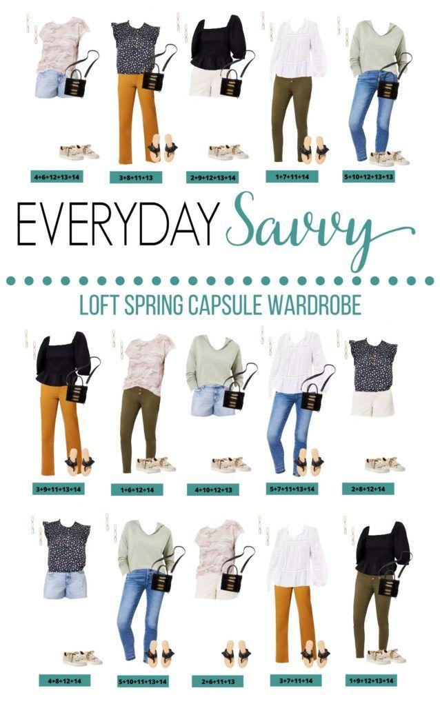 15 Loft Capsule Wardrobe Spring Outfit Ideas