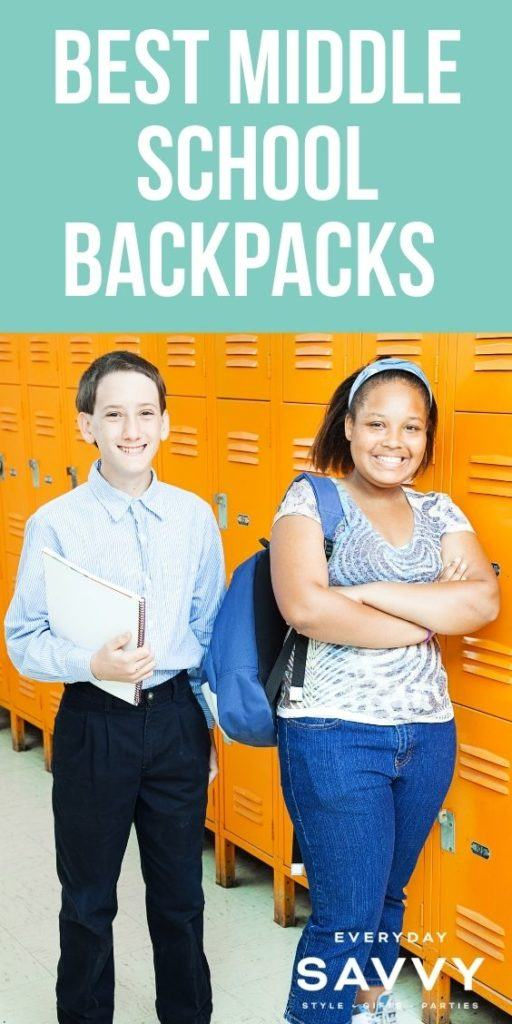 Best Middle School backpacks - miiddle school kids with backpack and lockers
