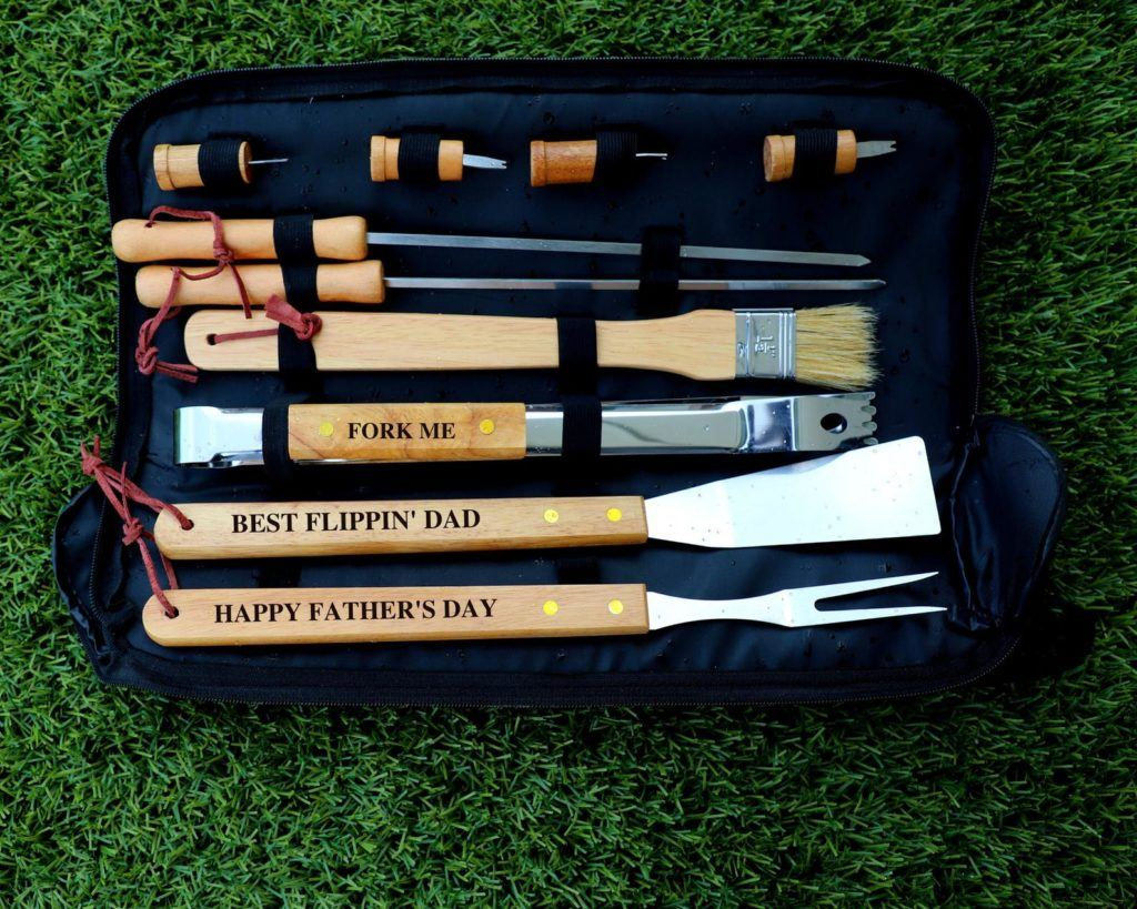 personalized bbq tools set