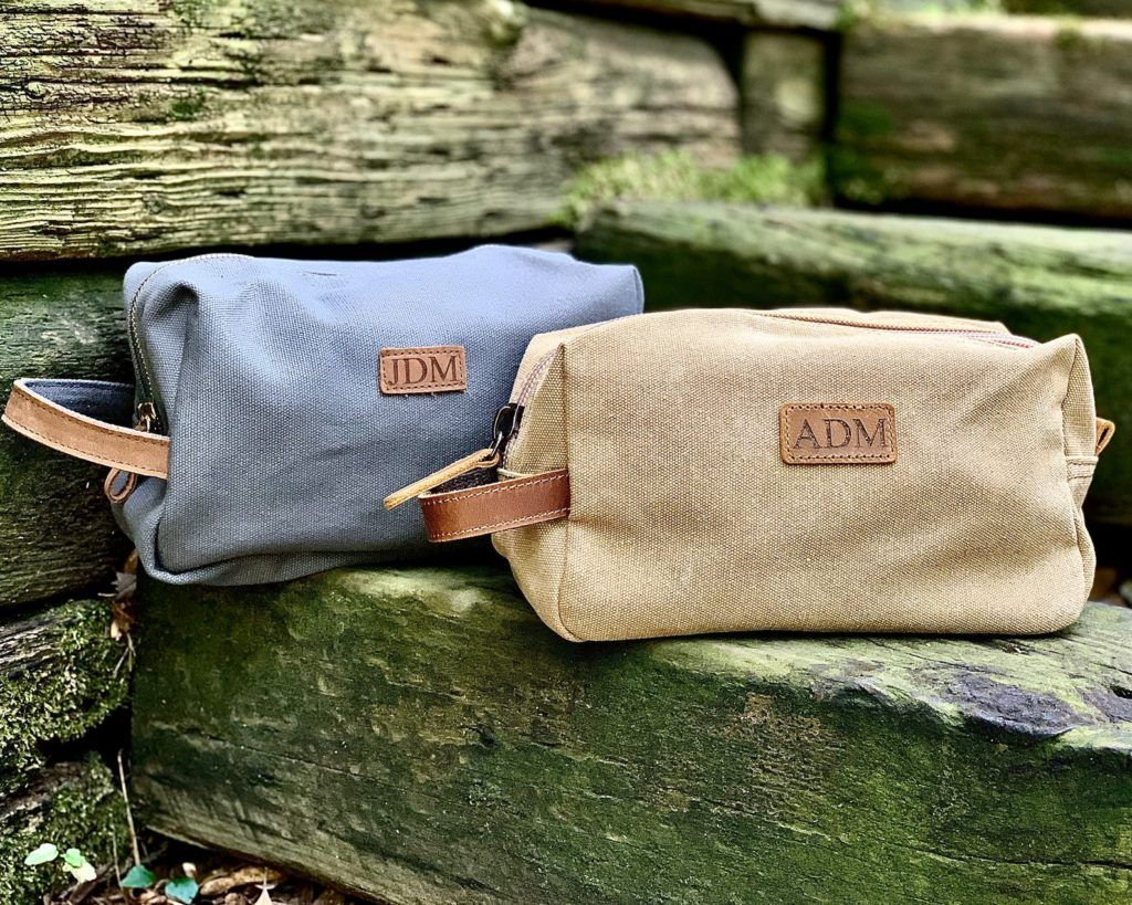 personalized dopp kit