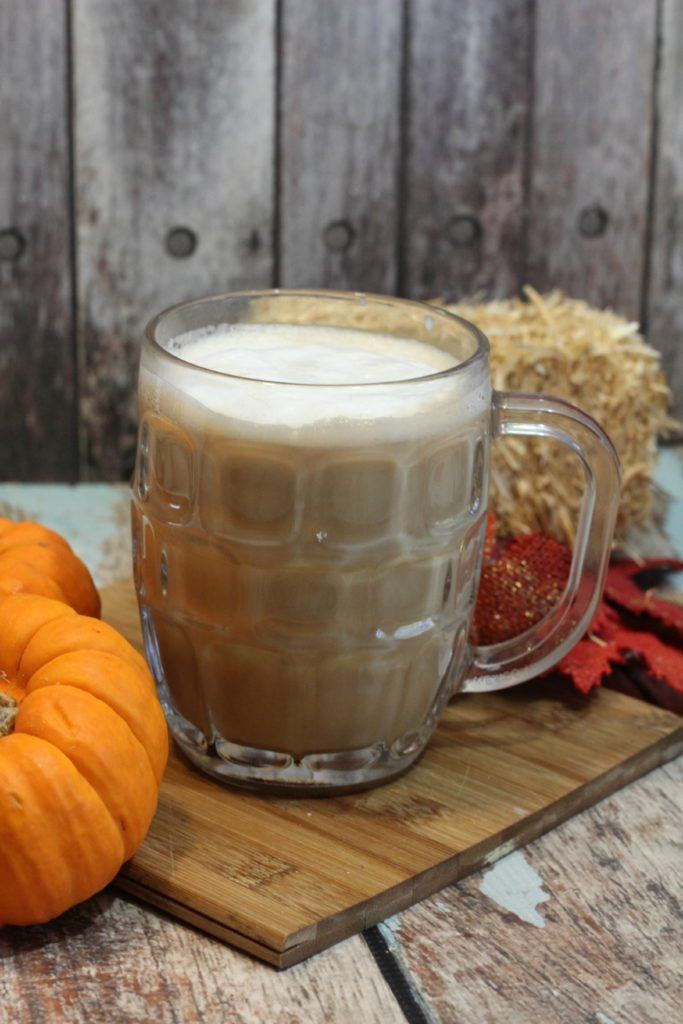 mug of pumpkin spice latte