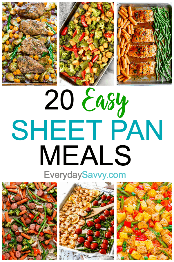 easy sheet pan meals