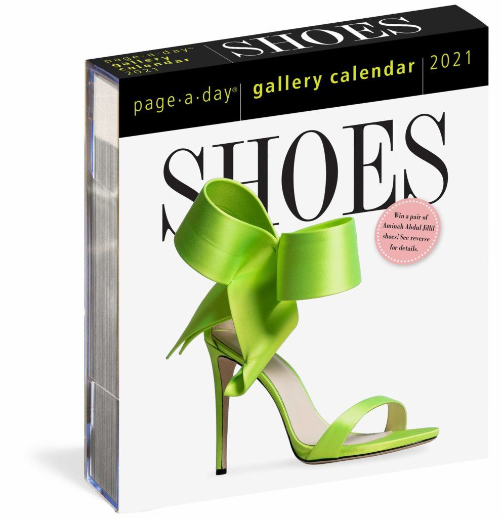"Shoes ""Page-a-Day"" Desk Calendar"