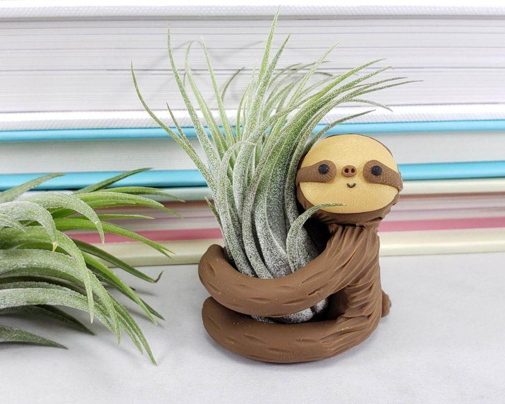 Sloth Plant Holder