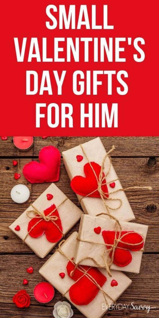 Small Valentine's Day Gifts for Him
