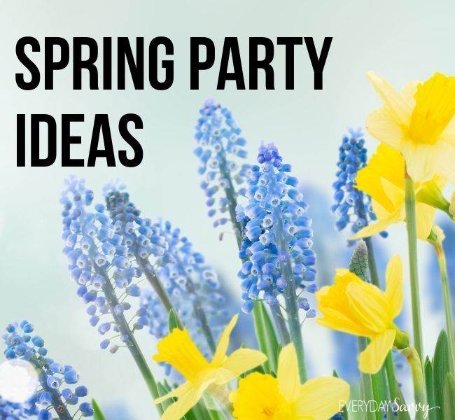 Spring Party Ideas - flowers - daffodils