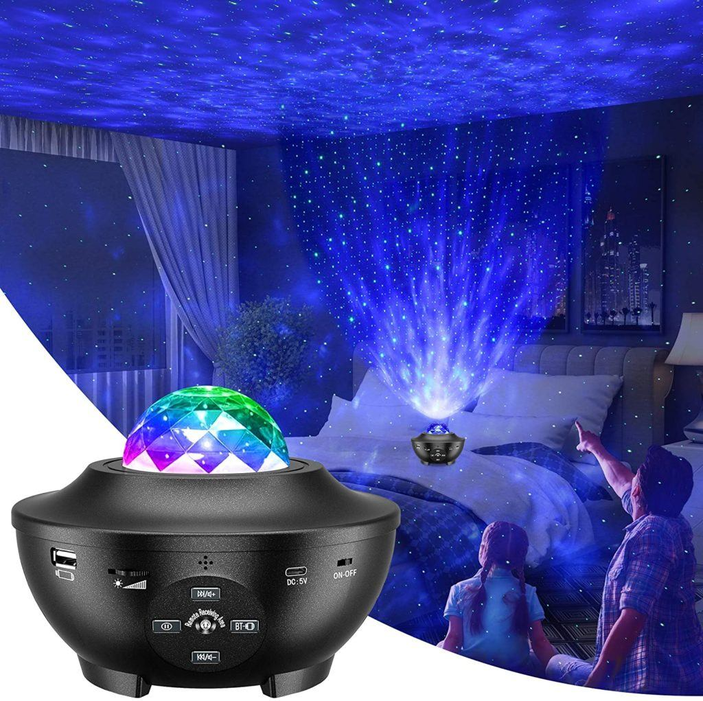 Star Projector - Stars in room on ceiling