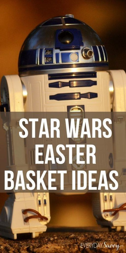 Star Wars Easter Basket Ideas with R2D2